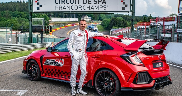 Honda Civic Type R Sets World Record at Spa-Francorchamps