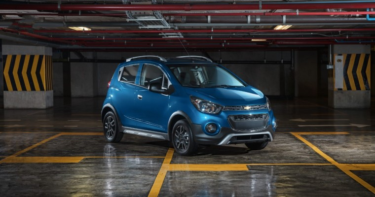 Sportier Chevrolet Beat Activ Arriving in Mexico in July