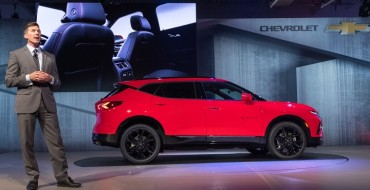 2019 Chevrolet Blazer Won't Be Offered with a Third-Row Option