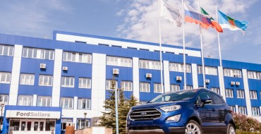 Production of New EcoSport Kicks Off at Ford Sollers Plant in Naberezhenye Chelny