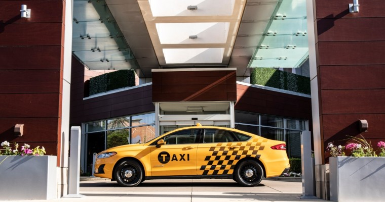Taxi! Ford Reveals 2019 Fusion Hybrid Taxi, Transit Connect Taxi