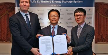 Hyundai Motor Group Teams Up With Wärtsilä for Used EV Battery Repurposing
