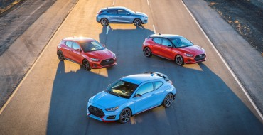 Hyundai Runs Sizzler Media Day With the Veloster N at Nürburgring