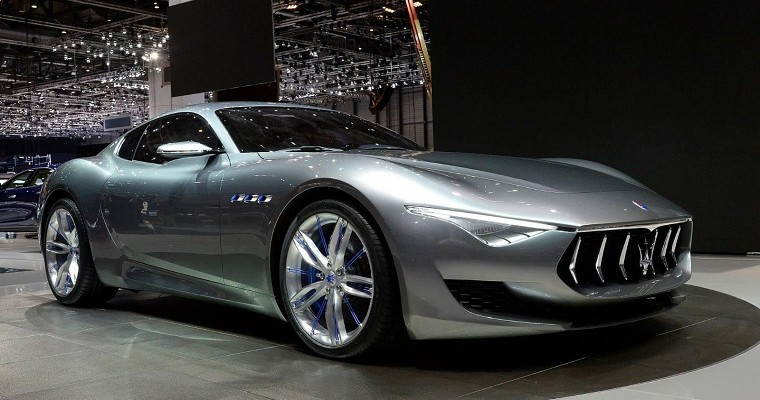 Maserati Alfieri is an Electric Sports Car That Does 0-60 in 2 Seconds