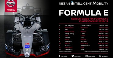 Nissan Formula E Schedule Released