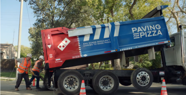 Domino's Latest Marketing Ploy Is Filling in Potholes