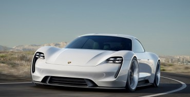 Porsche Picks a Name for Its Electric Car & Launches Mobile Service