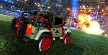 Rocket League Goes Jurassic With New Car Pack