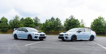 [PHOTOS] They're Here: the 2019 Subaru WRX and WRX STI Series.Gray Models