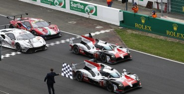 Toyota Wins 1-2 at Le Mans