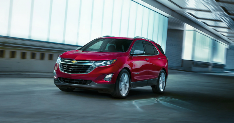 2019 Chevy Equinox Wins Spot on WardsAuto 10 Best UX List