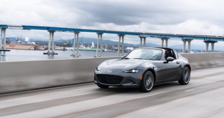 2019 Mazda MX-5 Miata RF Price Increases Slightly to Match Major Upgrades