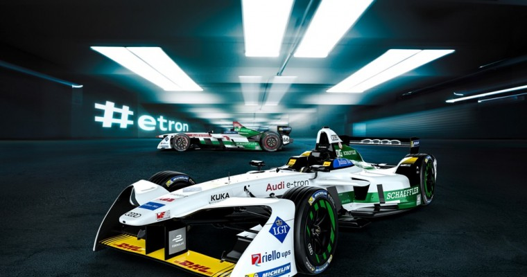 Audi Takes Home Formula E Title Surrounded By Hollywood Stars