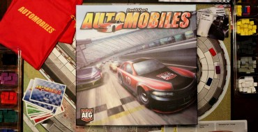 Race Cars & Cubes: Review of AEG's Automobiles Board Game