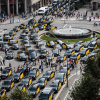 Taxi Strike Against Uber Fills Streets Across Spain With Stationary Cabs
