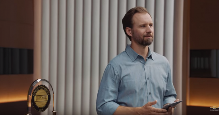 New Chevy Commercial Highlights J.D. Power Dependability Awards