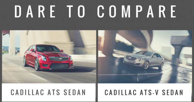 What's the Difference Between the Cadillac ATS Sedan and the Cadillac ATS-V Sedan?
