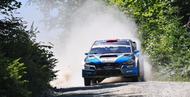 Subaru Wins 2018 New England Forest Rally