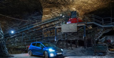 New Ford Fiesta ST Blazes Through Underground Salt Mine in 'Undertrack'