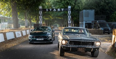 Original Ford Mustang Bullitt Makes International Debut at Goodwood Festival of Speed