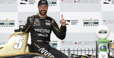 Honda, Hinchcliffe Race to Victory in Iowa