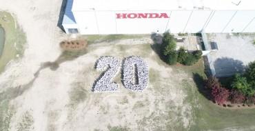 Honda Celebrates 20 Years of Production in South Carolina