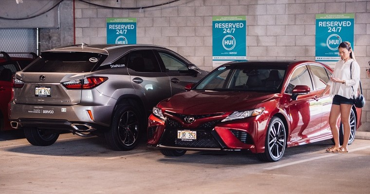 Toyota Launches App-Controlled Car Sharing Service in Honolulu