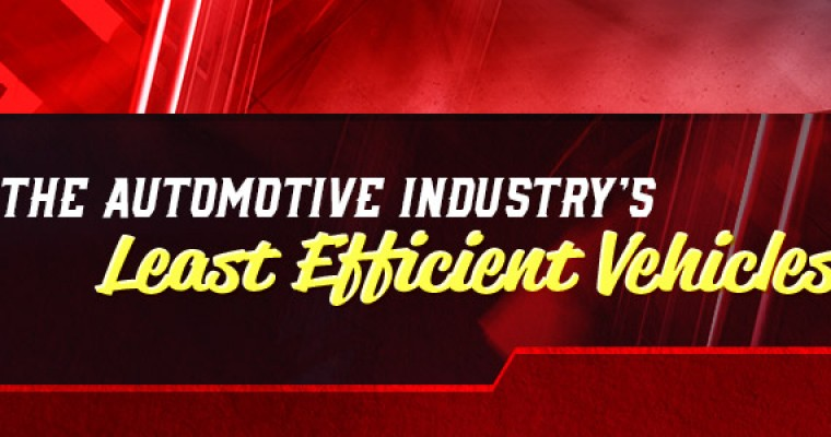 Infographic: The Automotive Industry's Least Efficient Vehicles