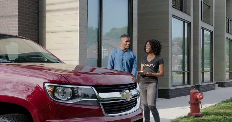 With Maven Peer Cars Program, GM Owners Can Rent Out Their Vehicles and Earn Extra Money