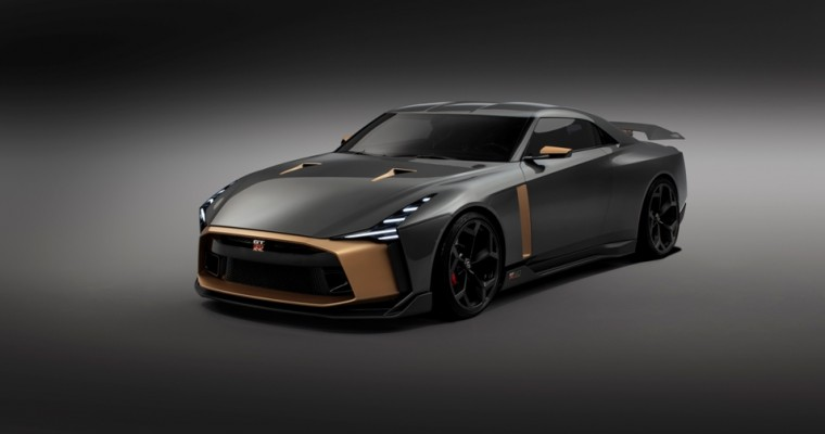 Meet the Nissan GT-R50