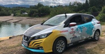 Polish Adventurer Taking Epic Nissan LEAF Road Trip