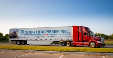 Toyota Unveils 2nd Generation Hydrogen Fuel Cell Truck