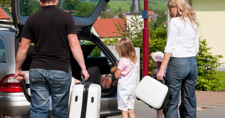 Divide Your Car Into Zones For Road Trip Essentials