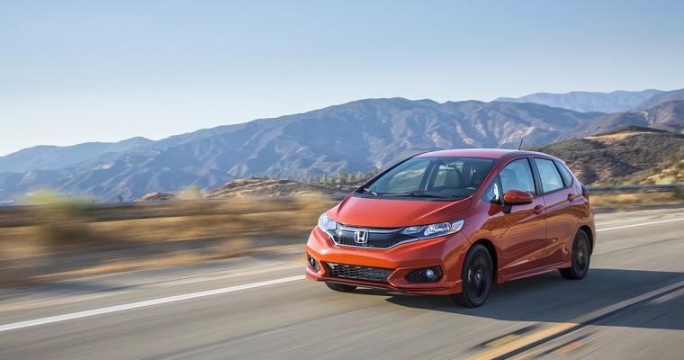 2019 Honda Fit Named 'Best New Car for Teens Under $20,000'