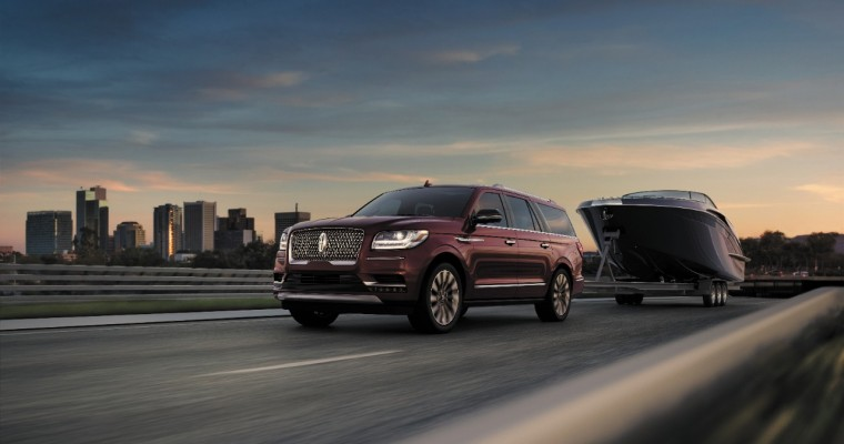 Lincoln Navigator is First American Vehicle to Earn Highest Score in J.D. Power APEAL Study
