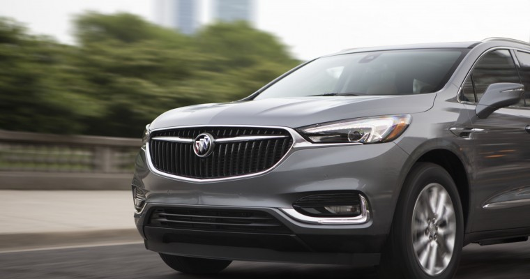 Buick Enclave Gains Ground During the First Quarter of the Year