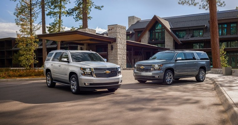 Chevrolet Tahoe and Suburban Premier Plus Special Editions Feature Popular 6.2-Liter V8