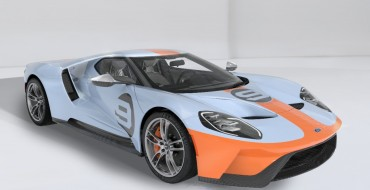 [PHOTOS] Of Course the Gulf Oil 2019 Ford GT Heritage Edition Looks Amazing