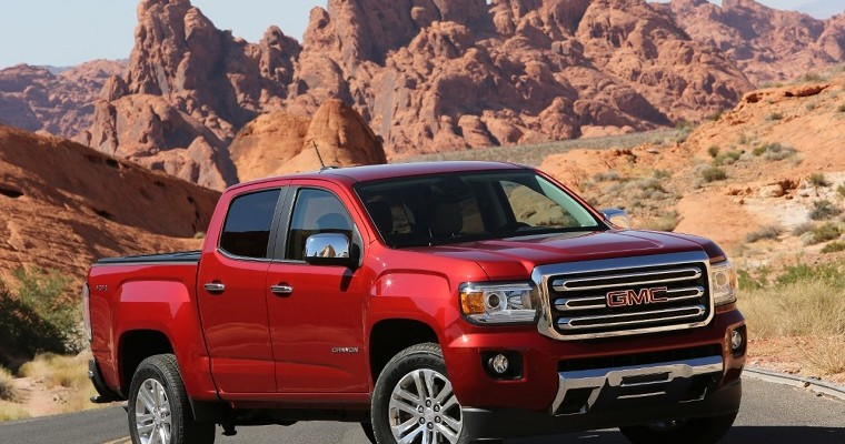 GMC Canyon is 12-Percent Off This Month