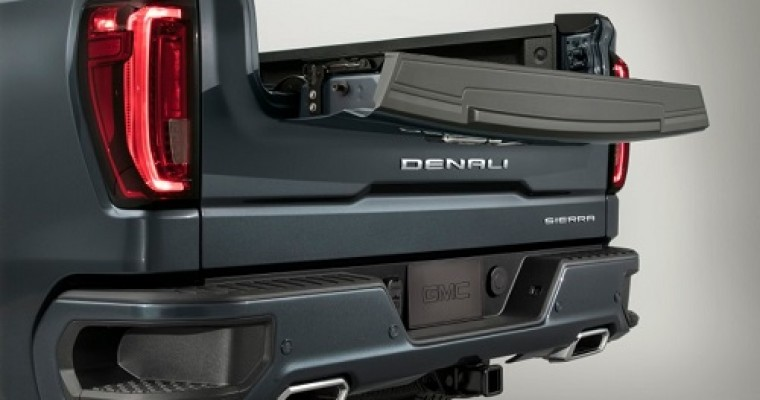 How to Use the GMC Sierra MultiPro Tailgate's Kicker Audio System
