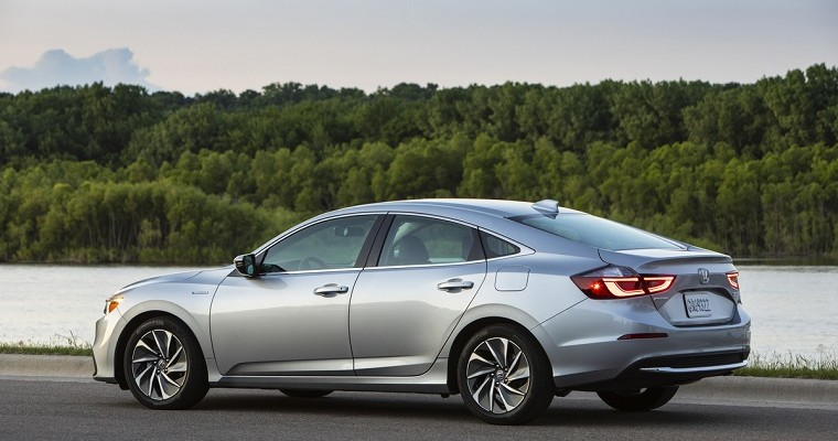 2019 Honda Insight Named IIHS Top Safety Pick+