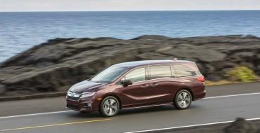 IIHS Shows 2019 Honda Odyssey is the Safest New Minivan
