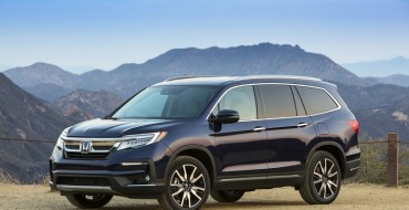 2019 Honda Pilot Receives IIHS Top Safety Pick+ Rating