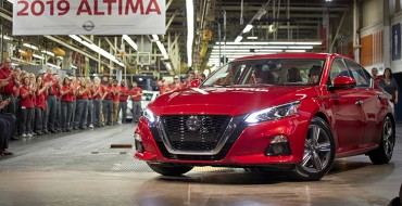 Nissan's U.S. Assembly Plants Upgraded for 2019 Altima Production