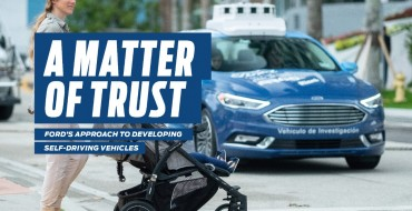 Ford Releases 'A Matter of Trust' Report on Autonomous Vehicles