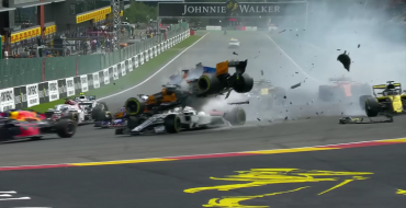 2018 Belgian GP: Vettel Wins After Scary Crash Shows Halo's Worth