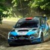 Subaru's David Higgins Dominates 2018 Ojibwe Forests Rally