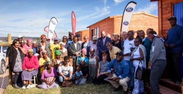 Ford Welcomes Families at Blue Village Housing Project in South Africa