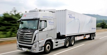 Hyundai Semi Takes Autonomous Trip Down South Korean Highway