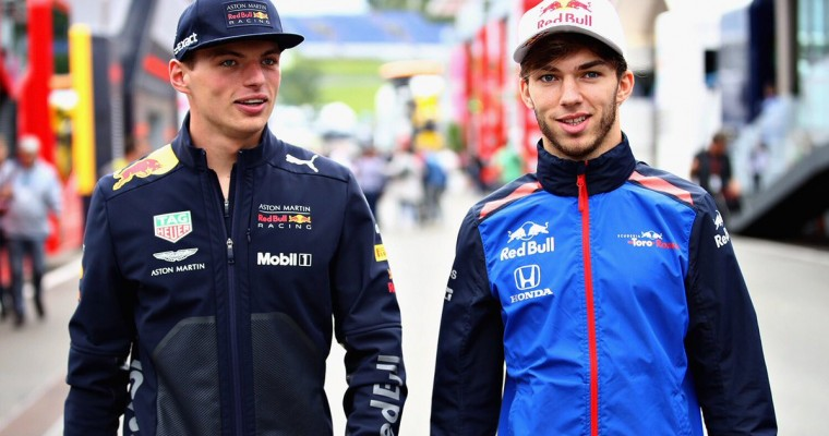 Pierre Gasly Joins Red Bull for 2019